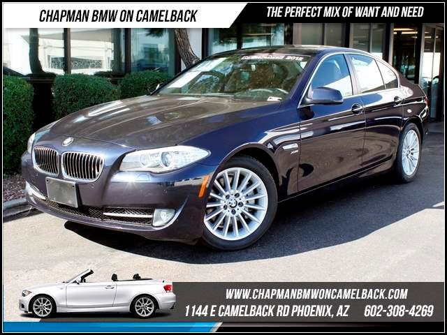 2012 BMW 5-Series 535i xDrive 25989 miles 1144 E CamelbackChapman BMW on Camelback in Phoenix is