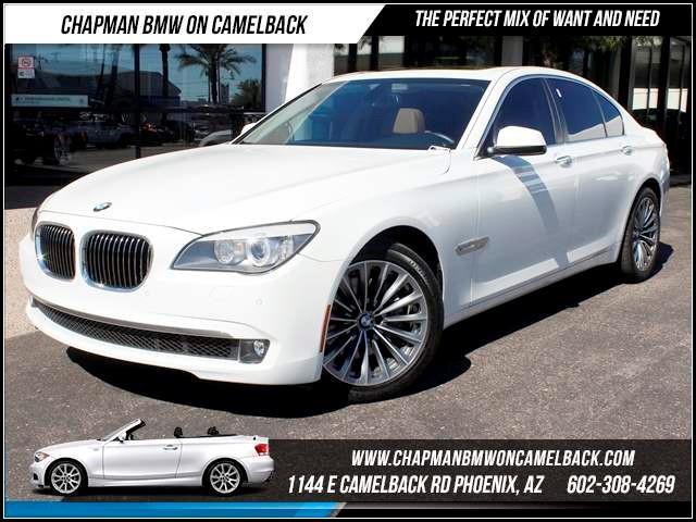 2012 BMW 7-Series 740i Lux SeatingConvenience Pac 34120 miles 1144 E CamelbackChapman BMW on Ca