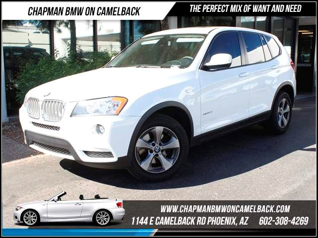 2011 BMW X3 xDrive28i 40655 miles 1144 E CamelbackChapman BMW on Camelback in Phoenix is the CPO