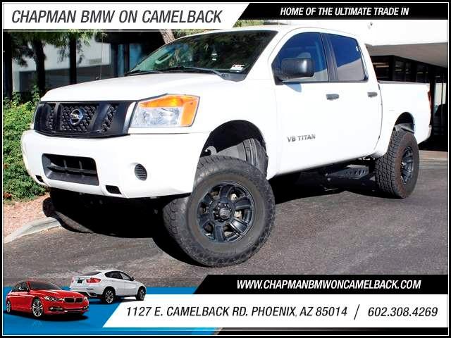 2011 Nissan Titan S Crew Cab 38774 miles 1127 E Camelback BUY WITH CONFIDENCE Chapman BMW
