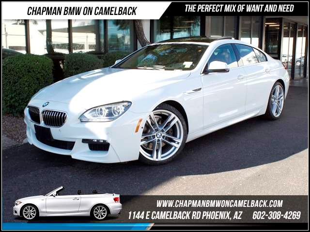2013 BMW 6-Series 640i Gran Coupe 9221 miles 1144 E CamelbackChapman BMW on Camelback in Phoenix