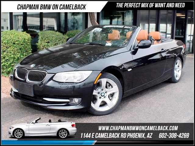 2011 BMW 3-Series Conv 335i Prem Nav HK sound 34242 miles 1144 E CamelbackHappier Holiday Sales