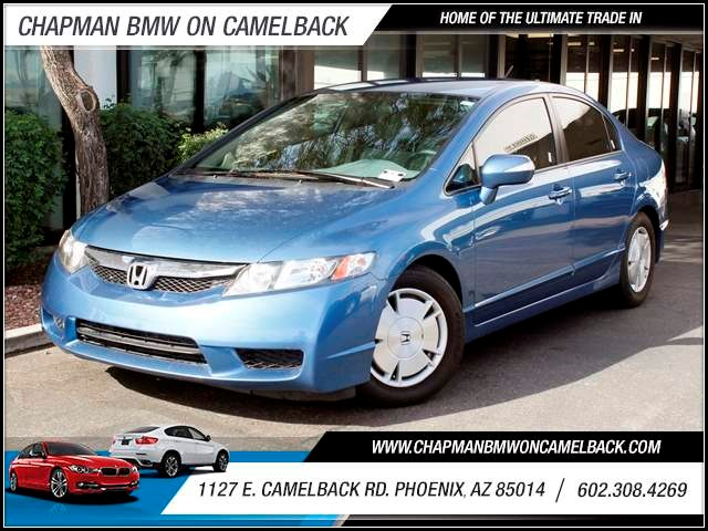 2010 Honda Civic Hybrid 53198 miles 1127 E Camelback BUY WITH CONFIDENCE Chapman BMW is l