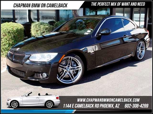 2012 BMW 3-Series Conv 335is Prem Pkg Nav 14017 miles 1144 E CamelbackHappier Holiday Sales Even