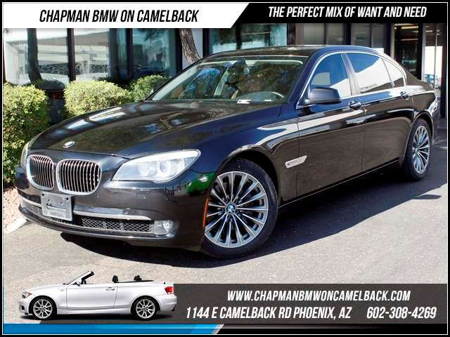 2011 BMW 7-Series 740Li Nav Lux Seating 48033 miles 1144 E CamelbackHappier Holiday Sales Event