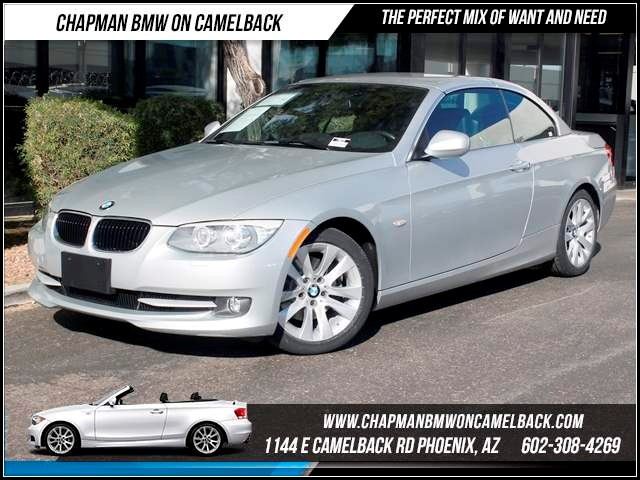 2011 BMW 3-Series Conv 328i Prem Nav Cold 27323 miles 1144 E CamelbackHappier Holiday Sales Even