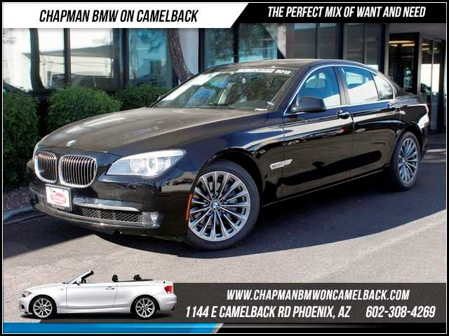2012 BMW 7-Series 740i 16939 miles 1144 E CamelbackHappier Holiday Sales Event on Now Chapman