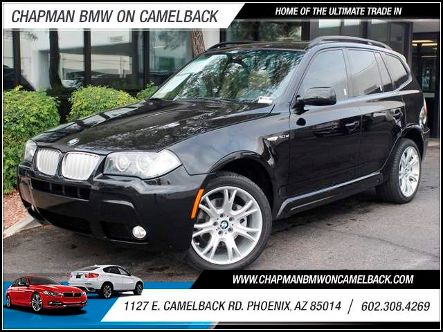2007 BMW X3 30si 85626 miles Phone pre-wired for phone Cruise control Anti-theft system audio