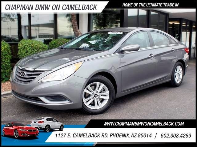2013 Hyundai Sonata GLS 43956 miles 1127 E Camelback BUY WITH CONFIDENCE Chapman BMW Used