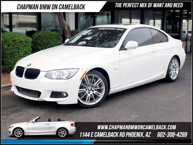2012 BMW 3-Series Cpe 335i M Sport Pkg 39341 miles 1144 E CamelbackHappier Holiday Sales Event o