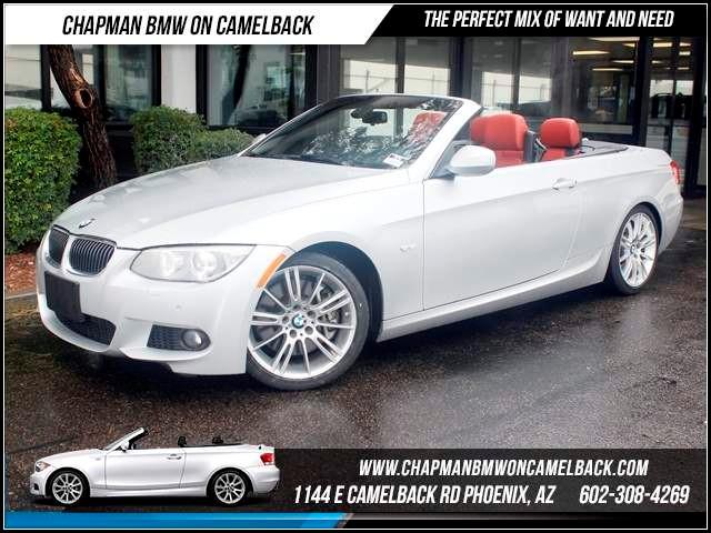 2011 BMW 3-Series Conv 335i Nav M Spt Prem Pkg 38434 miles 1144 E CamelbackHappier Holiday Sales