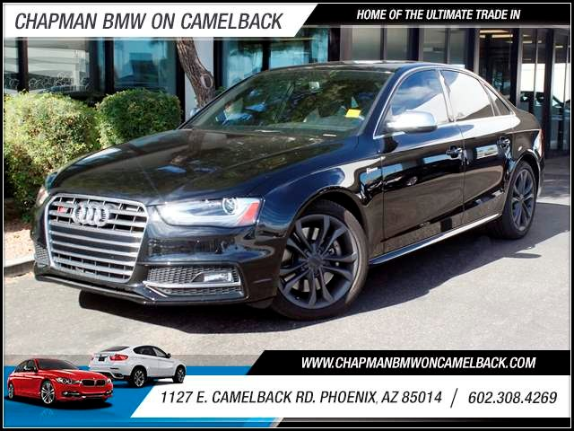 2014 Audi S4 30T quattro Prem Plus 14958 miles 1127 E Camelback BUY WITH CONFIDENCE Chap