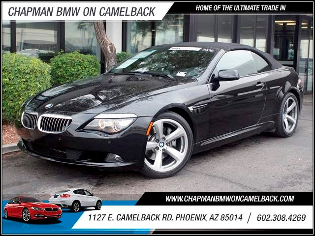 2008 BMW 6-Series 650i 53385 miles 1127 E Camelback BUY WITH CONFIDENCE Chapman BMW is lo