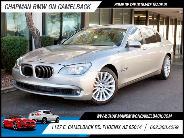 2010 BMW 7-Series 750Li NAV Lux Conv 43658 miles 1144 E CamelbackCPO Elite Sales Event on no