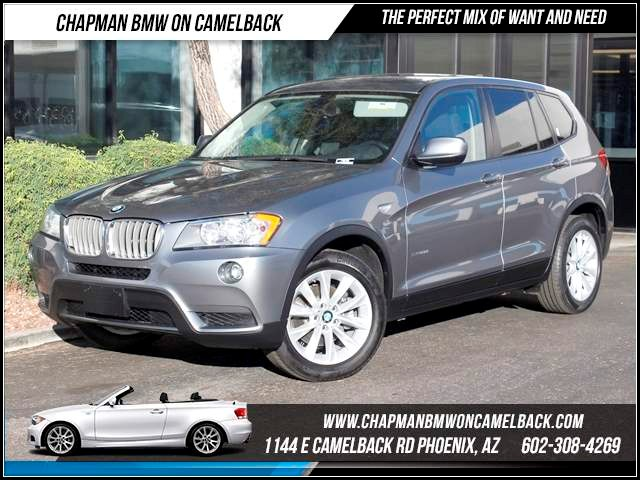 2013 BMW X3 xDrive28i 38697 miles 1144 E CamelbackHappier Holiday Sales Event on Now Chapman B