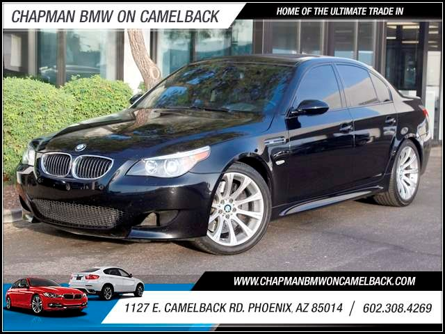 2006 BMW M5 71487 miles 1127 E Camelback BUY WITH CONFIDENCE Chapman BMW is located at 12