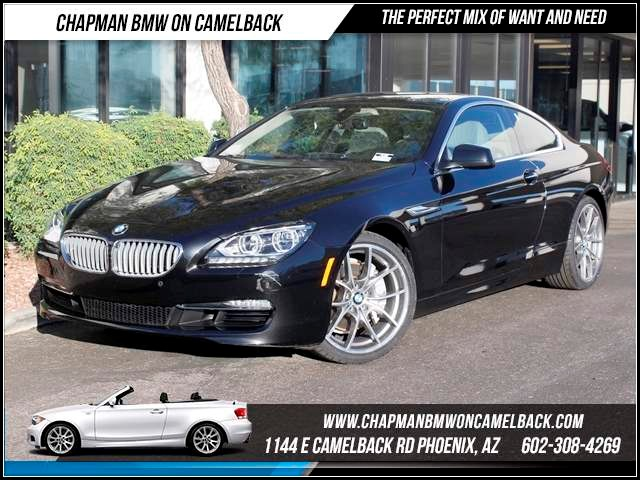 2012 BMW 6-Series 650i 25919 miles 1144 E CamelbackHappier Holiday Sales Event on Now Chapman