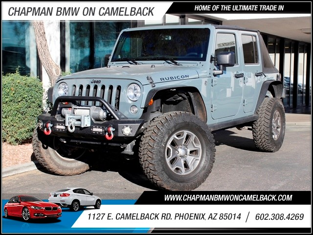 2014 Jeep Wrangler Unlimited Rubicon 18632 miles 1127 E Camelback BUY WITH CONFIDENCE Cha