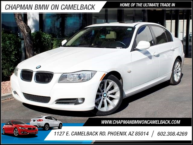 2011 BMW 3-Series Sdn 328i Prem Pkg 92124 miles 1144 E CamelbackCPO Elite Sales Event on now a