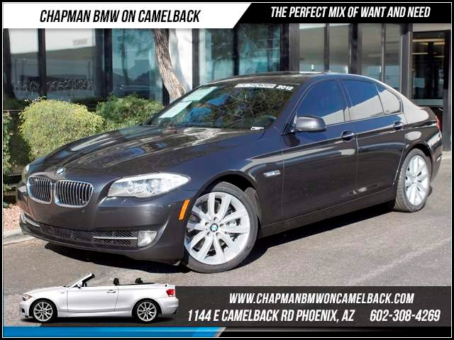 2012 BMW 5-Series 535i 45302 miles 1144 E CamelbackHappier Holiday Sales Event on Now Chapman