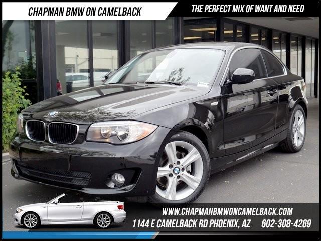 2012 BMW 1-Series 128i Prem Pkg 25256 miles 1144 E Camelback Chapman BMW on Camelback in Phoenix