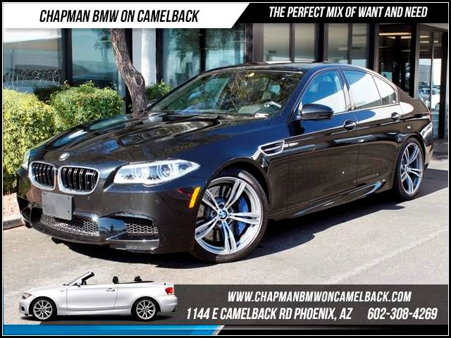 2014 BMW M5 5310 miles 1144 E CamelbackHappier Holiday Sales Event on Now Chapman BMW on Camel