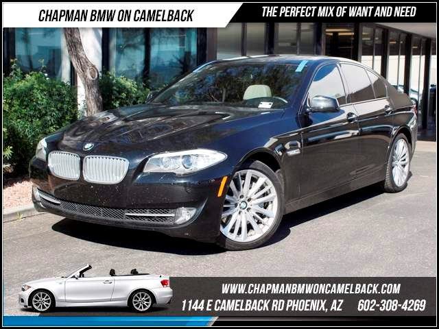 2012 BMW 5-Series 550i Sport Lux Seat Nav 26684 miles 1144 E CamelbackCPO Elite Sales Event on