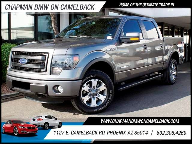 2013 Ford F-150 FX4 Crew Cab 24624 miles 1127 E Camelback BUY WITH CONFIDENCE Chapman BMW