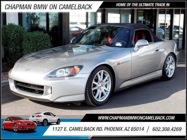 2004 Honda S2000 53607 miles 1127 E Camelback BUY WITH CONFIDENCE Chapman BMW is located