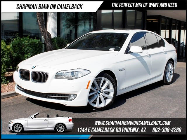 2012 BMW 5-Series 535i PremSport Pkg Nav 33289 miles 1144 E CamelbackCPO Elite Sales Event on