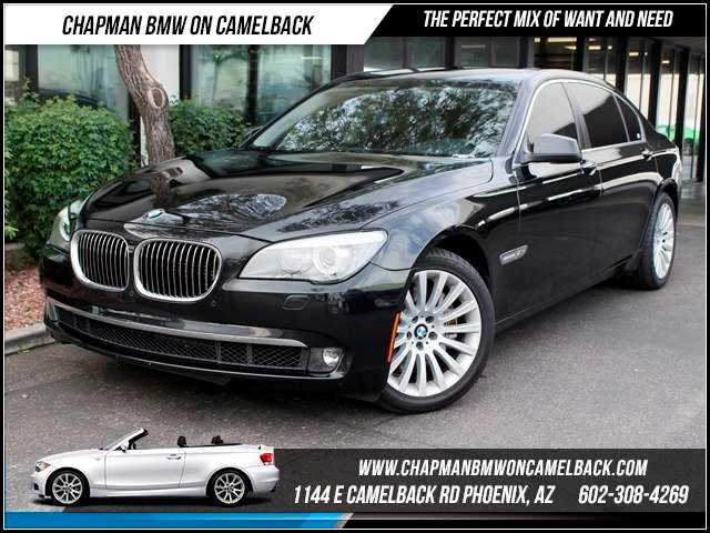 2012 BMW 7-Series 750Li xDrive Lux SeatComfort Ac 31604 miles Chapman BMW on Camelback CPO Elite