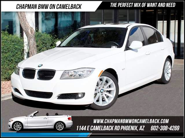 2011 BMW 3-Series Sdn 328i NAV Prem 2 20816 miles 1144 E CamelbackCPO Elite Sales Event on now