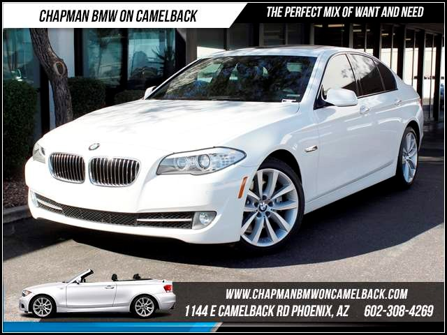 2012 BMW 5-Series 535i PremSport Pkg Nav 28088 miles Chapman BMW on Camelback CPO Elite Sales Eve