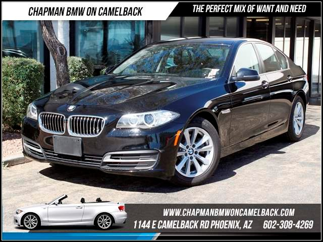 2014 BMW 5-Series 528i xDrive Nav 11137 miles Chapman BMW on Camelback CPO Elite Sales Event Tak