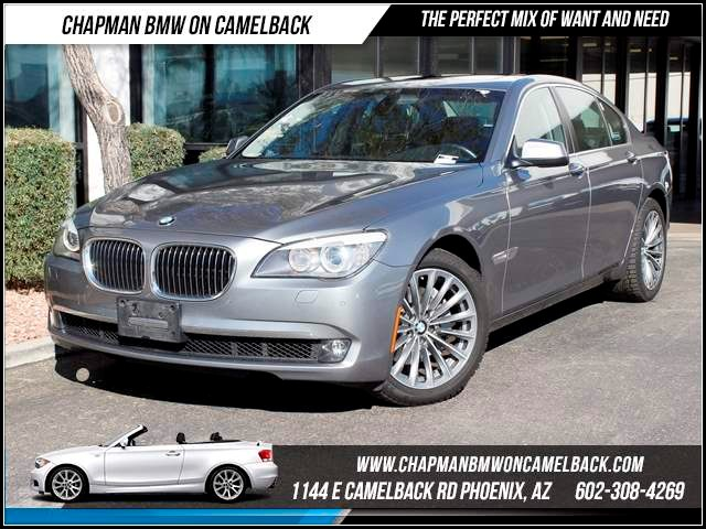 2012 BMW 7-Series 740i Conv Pkg 36621 miles Chapman BMW on Camelback CPO Elite Sales Event Take
