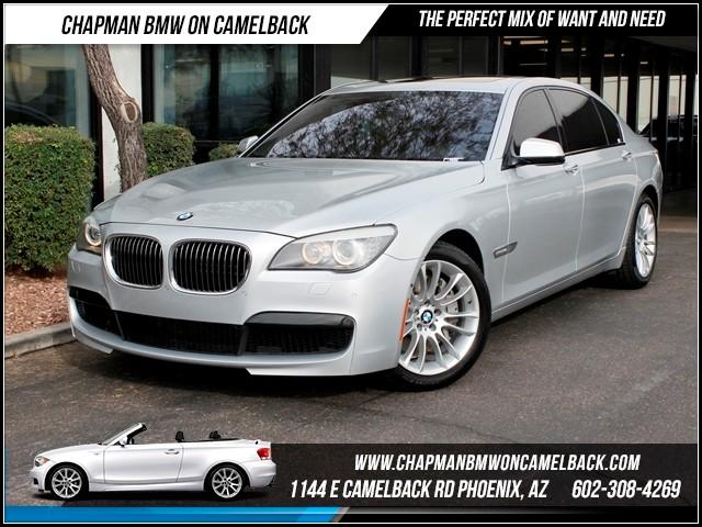 2012 BMW 7-Series 750Li M SportDrivers Asst Pkg 36992 miles Chapman BMW on Camelback CPO Elite Sa