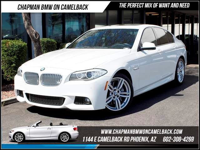 2012 BMW 5-Series 550i M Sport Pkg Nav 36794 miles Chapman BMW on Camelback CPO Elite Sales Event