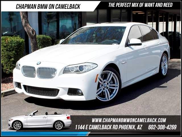 2012 BMW 5-Series 550i NAV Comfort AccM Spt Pkg 36794 miles Chapman BMW on Camelback CPO Elite