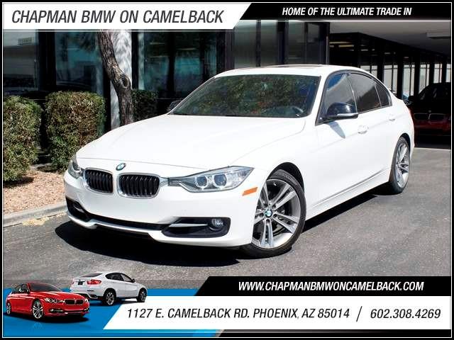 2013 BMW 3-Series Sdn 328i NAV Sport Line PremTech Pk 43170 miles 602 385-2286 1127 E Camelba