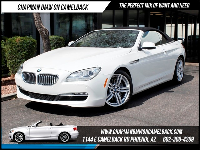 2012 BMW 6-Series 650i Lux SeatingHeads Up 30475 miles Chapman BMW on Camelback CPO Elite Sales E
