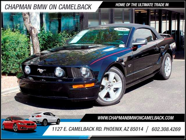 2006 Ford Mustang GT Deluxe 24503 miles 602 385-2286 1127 Camelback TAX SEASON IS HERE Buy