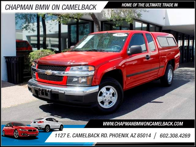 2007 Chevrolet Colorado LS Extended Cab 45094 miles 602 385-2286 1127 E Camelback HOME OF TH