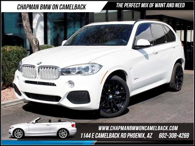 2014 BMW X5 xDrive50i NAV ExeDriv Asst Ms 9505 miles Chapman BMW on Camelback CPO Elite Sales E