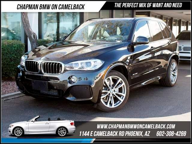 2015 BMW X5 sDrive35i PremM Sport Pkg Nav 4847 miles Chapman BMW on Camelback CPO Elite Sales Eve