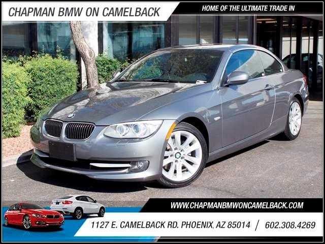 2012 BMW 3-Series Conv 328i PremConv Pkg Nav 28140 miles 1144 E CamelbackMarch Madness Sales