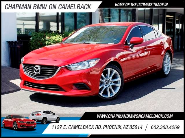 2014 Mazda MAZDA6 i Touring 26803 miles 602 385-2286 1127 Camelback RD TAX SEASON IS HERE B
