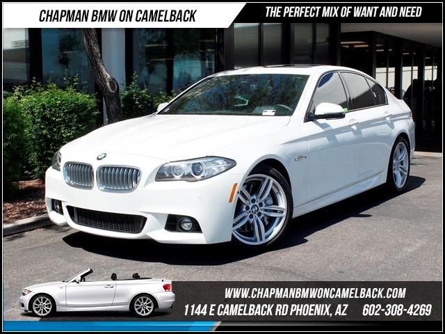 2014 BMW 5-Series 550i ExecLuxDrivers Pkg Nav 4007 miles 1144 E CamelbackMarch Madness Sale