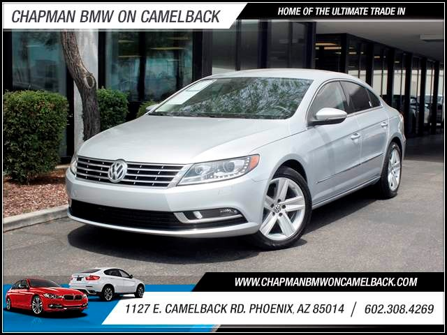 2013 Volkswagen CC Sport Plus 43172 miles 602 385-2286 1127 E Camelback HOME OF THE ULTIMATE