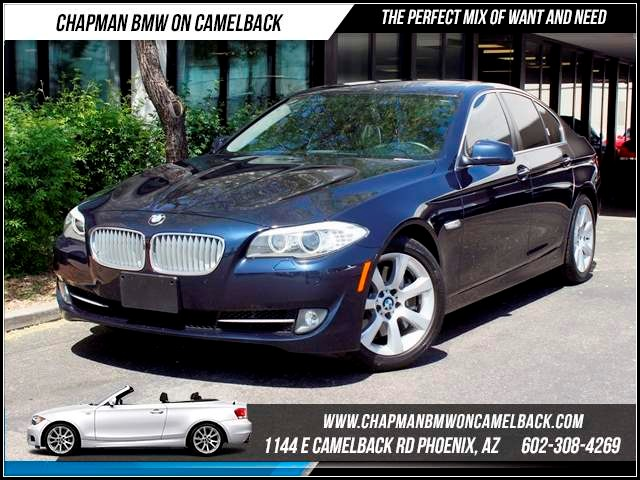 2011 BMW 5-Series 550i Prem2 Pkg Nav 52570 miles 1144 E CamelbackMarch Madness Sales Event on