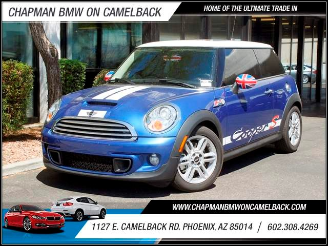 2013 MINI Hardtop Cooper S 38265 miles 602 385-2286 1127 E Camelback HOME OF THE ULTIMATE TR